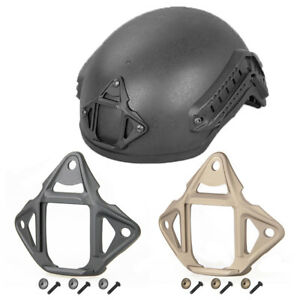 Tactical Skeleton Three-Hole Shroud Forged for Fast ACH ECH Helmet Accessories