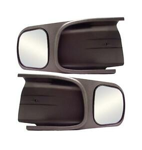 Cipa Mirrors Custom Towing Abs Black Manual Fits Dodge Ram 1500 2500 3500