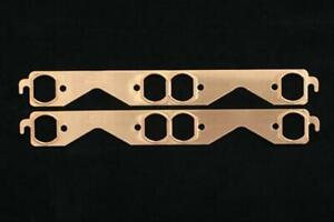 Sce Gaskets 4311 Exhaust Gaskets Header Copper Oval Port Chevy Small Block Pair