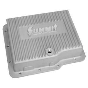 Summit Racing Manufacturing Aluminum Transmission Pan Gm Powerglide Deep 2 Qt