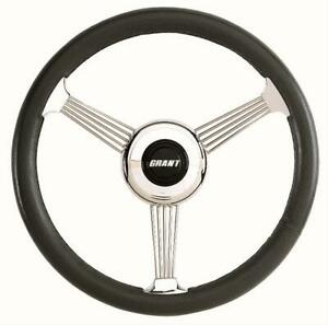 Grant Banjo Style Steering Wheel 14 75 Dia 3 Spoke 3 5 Dish 1050