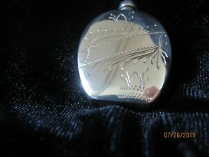 Sterling Silver Purse Perfume Bottle