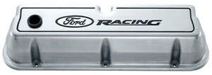 Proform Fits Ford Racing Aluminum Valve Covers Polished 302 001