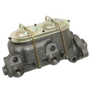 Summit Racing Master Cylinder Cast Iron 1 125 In Bore Dual Bowl Each 760176