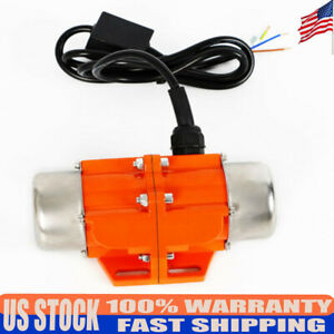 110v 100w Vibrating Motor Industrial Asynchronous Vibrator Single Phase 3600rpm