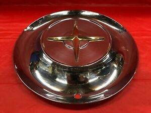 Rare Vintage 1954 Chrysler 15 Hubcap New Yorker Good Condition