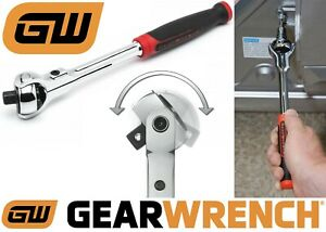 Gearwrench 81224 1 4 Drive Roto Ratchet Tool Cushion Grip New Free Shipping Usa