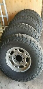 4 X Mastercraft Courser Mxt 33inch 285 75 r16 Tires And Rims W brand New Spare