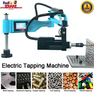 Universal 360 Electric Tapping Machine 1100mm Flexible Arm M3 m16 Touch Screen