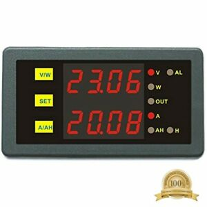 Programmable Combo Meter Dc 0 90v 0 50a Voltage Current Energy Power Watt For