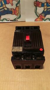 Ge General Electric Thed136070 70amp 600vac Circuit Breaker
