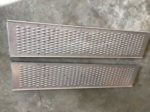 1928 29 Model A Ford Pickup Truck Running Boards
