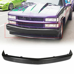 Steel Front Bumper Face Bar For 1988 1998 Silverado Sierra C1500 K1500