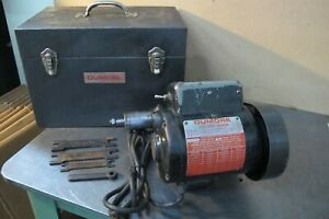 Dumore Tool Post Grinder 1 2 Hp Model 55 011