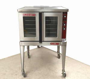 Blodgett Mark V 111 3 ph 38 w Electric Convection Oven 500 f Solid state 2 speed
