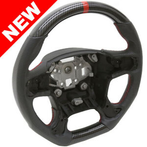 Handkraftd 15 Gmc Sierra 1500 2500 3500 Steering Wheel Hydro Carbon W Leather