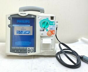 Philips Mrx Heartstart M3535a Aed Defib Ecg Pacer 2 X Battery