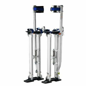 1115 Pentagon Tool Professional 18 30 Silver Drywall Stilts Highest Quality