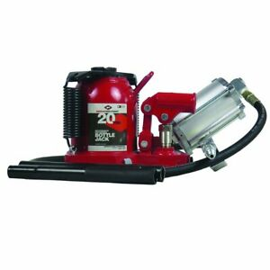 Aff 5621sd Bottle Jack 20 Ton Capacity Super Duty Low Profile Air hydraulic