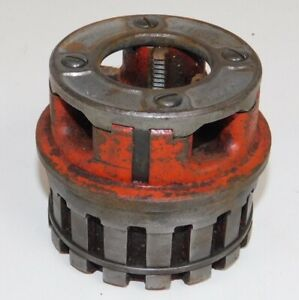 Ridgid 12r 1 Pipe Threading Die Head With Chasers