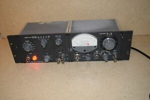 General Radio 1311 a Audio Oscillator 1232 a Tuned Amplifier Null Detector
