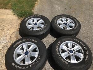 2015 Ford F 150 17 Oem Wheels And Tires Excellent Condition