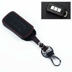 3 Buttons Car Remote Key Case Fob Cover For Mitsubishi Outlander 2016 Sport Asx