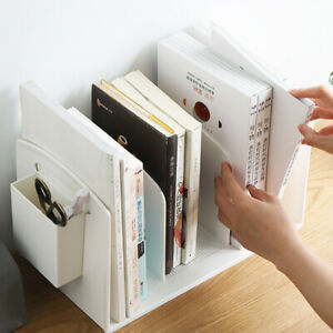 File Organizer For Desktop And Book Holder Plastic Magazine Orgainer Holder