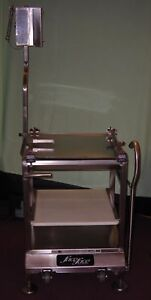 Deli Buddy Face To Face Slicer Cart Stand All Stainless Steel Commercial 4877