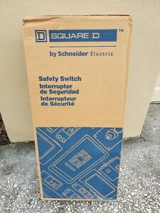 Schneider Square D H323nrb 100a 240v Type 3r Rainproof Heavy Duty Safety Switch
