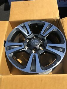 17 Toyota Tacoma Oem Factory Trd Wheels Rims 2019 total Of 4 Wheels With Lugs