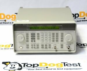 Hp Agilent Keysight 8648a 100 Khz To 1 Ghz Signal Generator