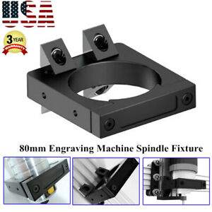 Aluminum Router Spindle Mount Kit 80mm Diameter For Cnc Router Engraving Machine