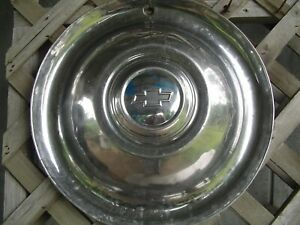 1 Vintage 54 55 Chevrolet Chevy Pickup Truck Deluxe Coupe Hubcap 16 In 1 2 Ton