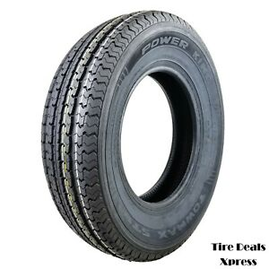 2 Two New St205 75r15 Power King Towmax D 8pr Trailer Tires 2057515 Max49t