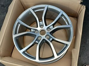 21 Porsche Cayenne Oem Factory Turbo E3 Exclusive Design Rear Wheel Rim Gts