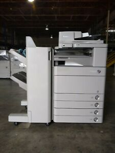 Canon Imagerunner Advance C5250 Color Copier printer scanner W finisher