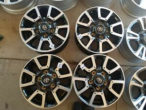 2014 2019 Toyota Tundra Sequioa Trd Factory Oem 18in Wheels Free Shipping