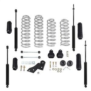 Rubicon Express 2 5 Inch Progressive Coil Lift Kit With Twin Tube Shocks
