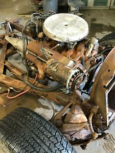 1962 Chevy Corvette Original 327 Engine And Transmission