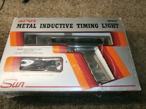 Vtg Sun Inductive Timing Light Cp7515 In Original Package Used Once