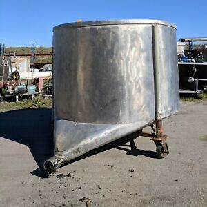 Stainless Steel Deep Tank With Md Frame