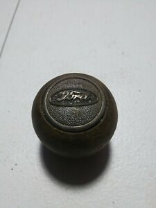 Vintage Ford Wooden Shifter Knob Rare