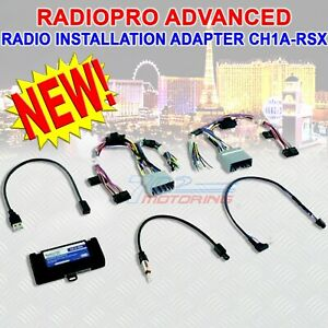 Radio Adapter For Select Chrysler Dodge Jeep And Ram Vehicles Can Bus System