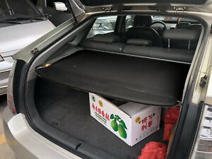 Rear Trunk Shade Rear Cargo Cover Blk Security Shield For 2010 2015 Toyota Prius