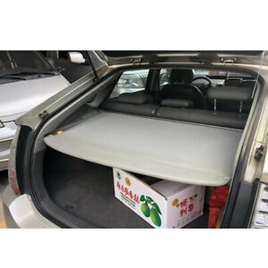 Rear Trunk Shade Rear Cargo Cover Grey Security Shield For2010 2015 Toyota Prius