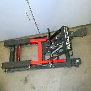 Palm Springs Pick Up Motorcycle Lift 1700 Lb Hydraulic Motorcycle Atv Jack Heavy