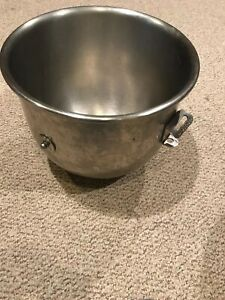 Genuine Hobart A 200 20 A 200 20 Qt Commercial Mixing Mixer Bowl Stainless