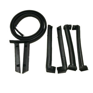 New 7 Pieces Soft Top Weatherstrip Kit Set For 86 96 Corvette C4 Convertible
