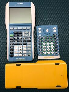 Ti nspire Graphing Calculator W Ti 84 Plus Silver Edition Keypad Very Clean